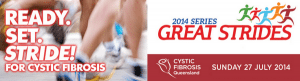 Cystic Fibrosis Great Strides 2014