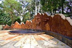 Kokoda Memorial Wall Cascade Gardens